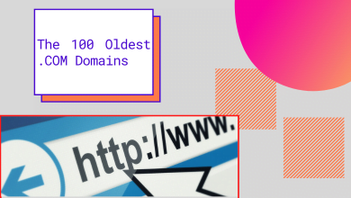 Photo of The 100 Oldest .COM Domains