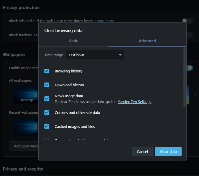 Cara Hapus Cache Pada Berbagai Browser