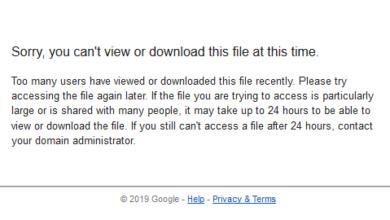 Photo of Solusi Mengatasi Limit Download Google Drive