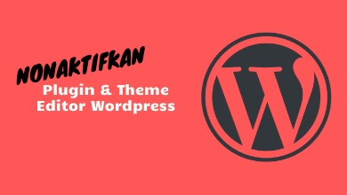 Cara Menonaktifkan File Editor (Plugin Dan Theme) WordPress