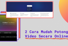 Photo of 2 Cara Mudah Potong Video Secara Online